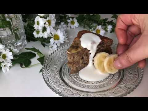 "YouTube recipe ""Vegan banana cake"" / レシピ ""ヴィーガン バナナケーキ"""