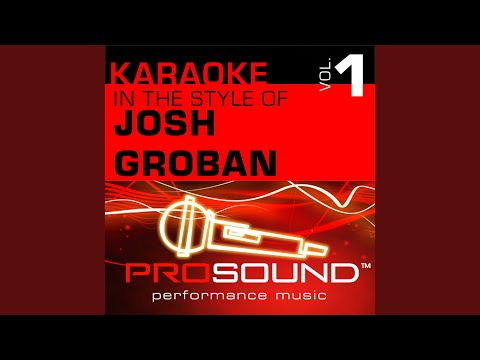Believe (Polar Express) (Karaoke Instrumental Track) (In the style of Josh Groban)