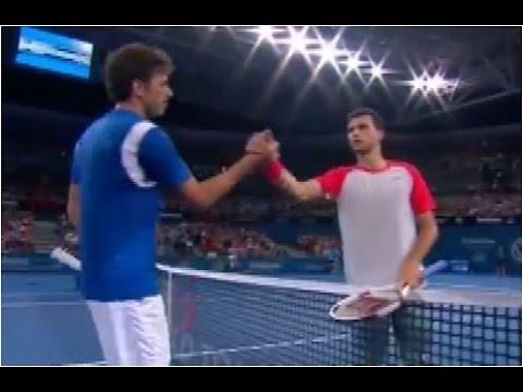 Grigor Dimitrov vs. Robin Haase 6-2, 6-3 Brisbane International (R32) 30.12.2013.