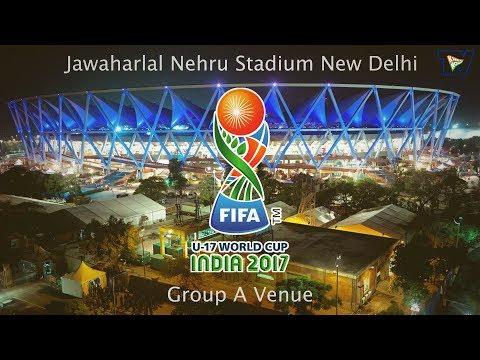 Jawaharlal Nehru Stadium New Delhi is ready for FIFA U-17 World Cup 2017
