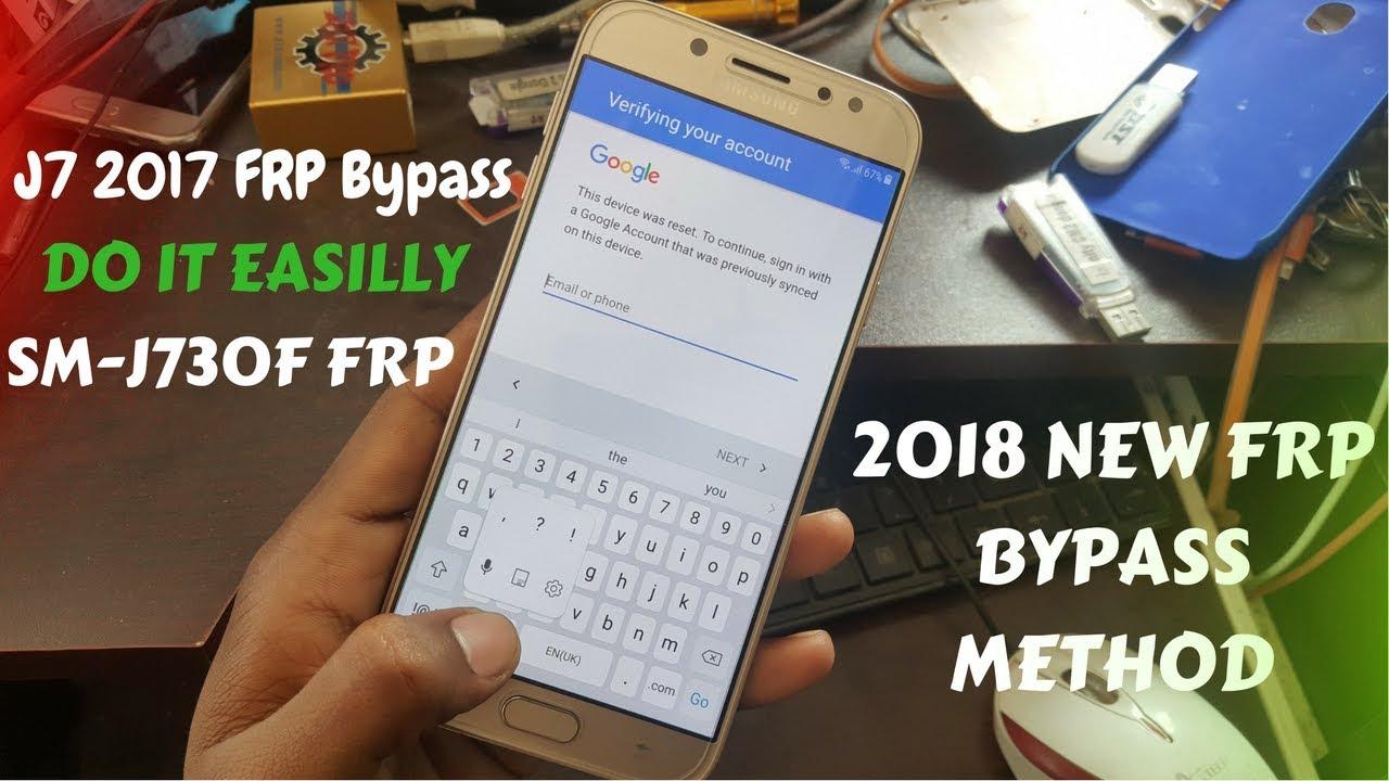 Samsung J7 Pro (SM-J730F) Frp Bypass by N Unlocker