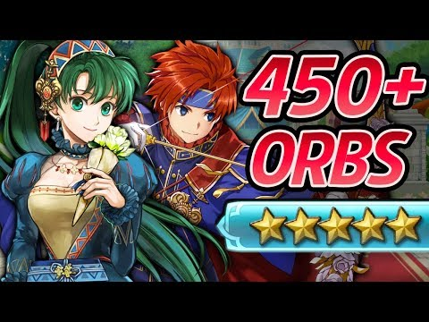 Fire Emblem Heroes - 450+ Orbs Summons: VALENTINE LYN,HECTOR,LILINA & ROY! [Love Abounds Banner]