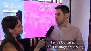 Lanzamiento Samsung Galaxy A3 y A5 en Chile