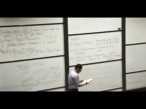 Oxford Mathematics 1st Year Student Lecture - Introductory Calculus