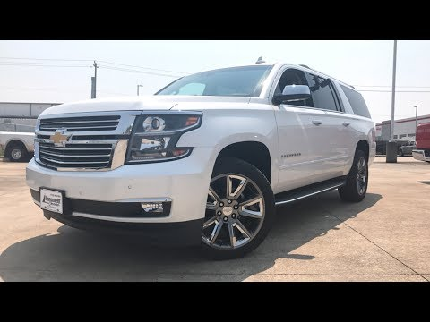 2018 Chevrolet Suburban Premier ($75,000) - Review