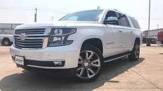 2018 Chevrolet Suburban Premier ($75,000) - Review
