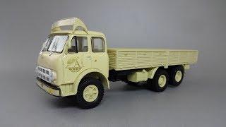 МАЗ-516А Автоэкспорт | Наш Автопром | Обзор масштабной модели 1:43