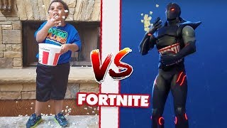 BRO VS LIL BRO FORTNITE DANCE CHALLENGE! NEW DANCES