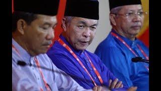 Sidang media oleh Presiden UMNO, Datuk Seri Dr Ahmad Zahid Hamidi