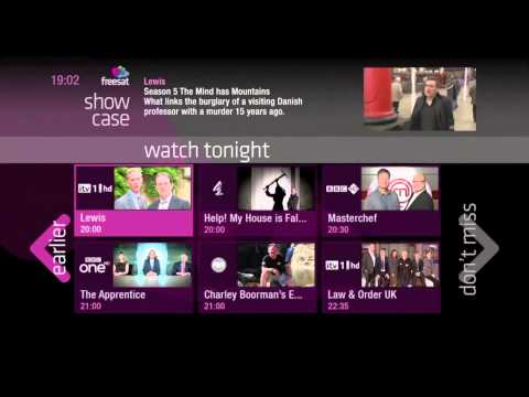 Free Time The Smart New TV Guide From Freesat
