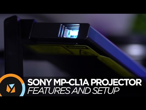 Sony MP-CL1A Mobile Projector Hands-on