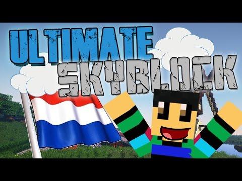 LIEVE NEDERLANDSE SPELERS?!!  - ULTIMATE SKYBLOCK - #3