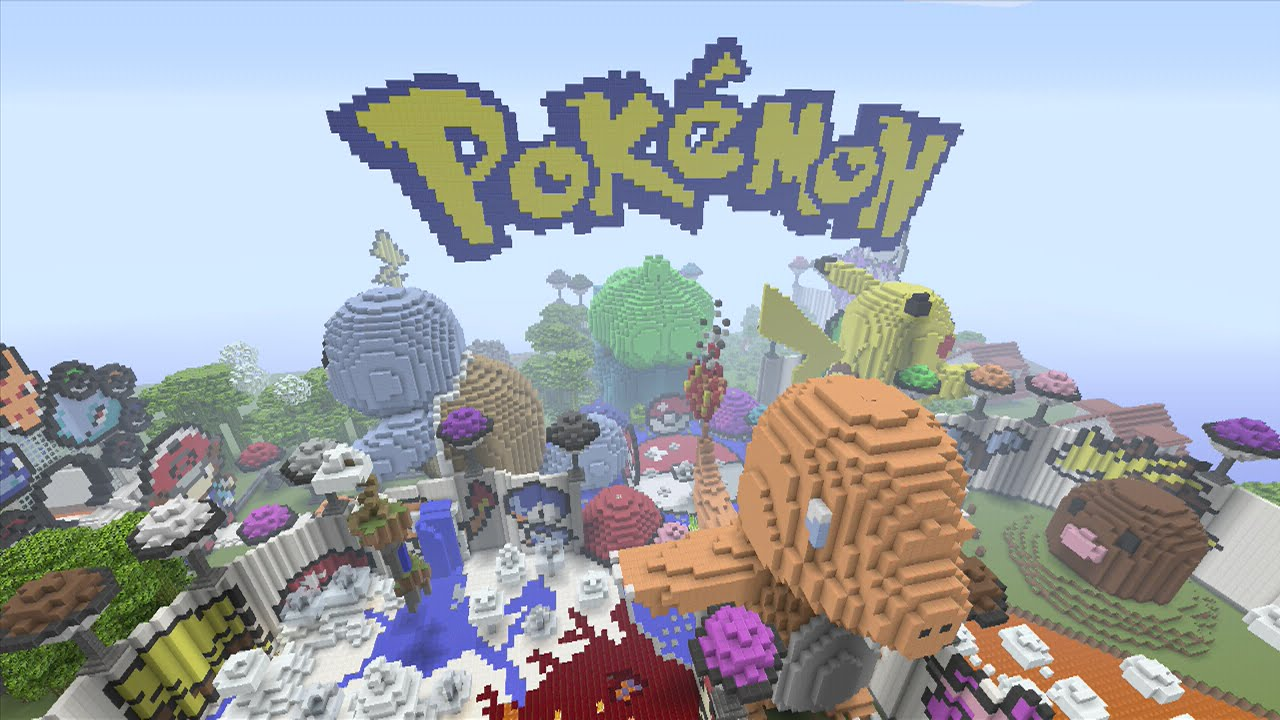 Minecraft Xbox Pokemon Hunger Games YouTube - Minecraft pokemon spielen
