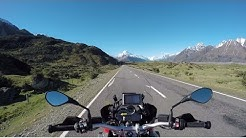 New Zealand motorcycle tour, Episode 1: Christchurch to Mount Cook