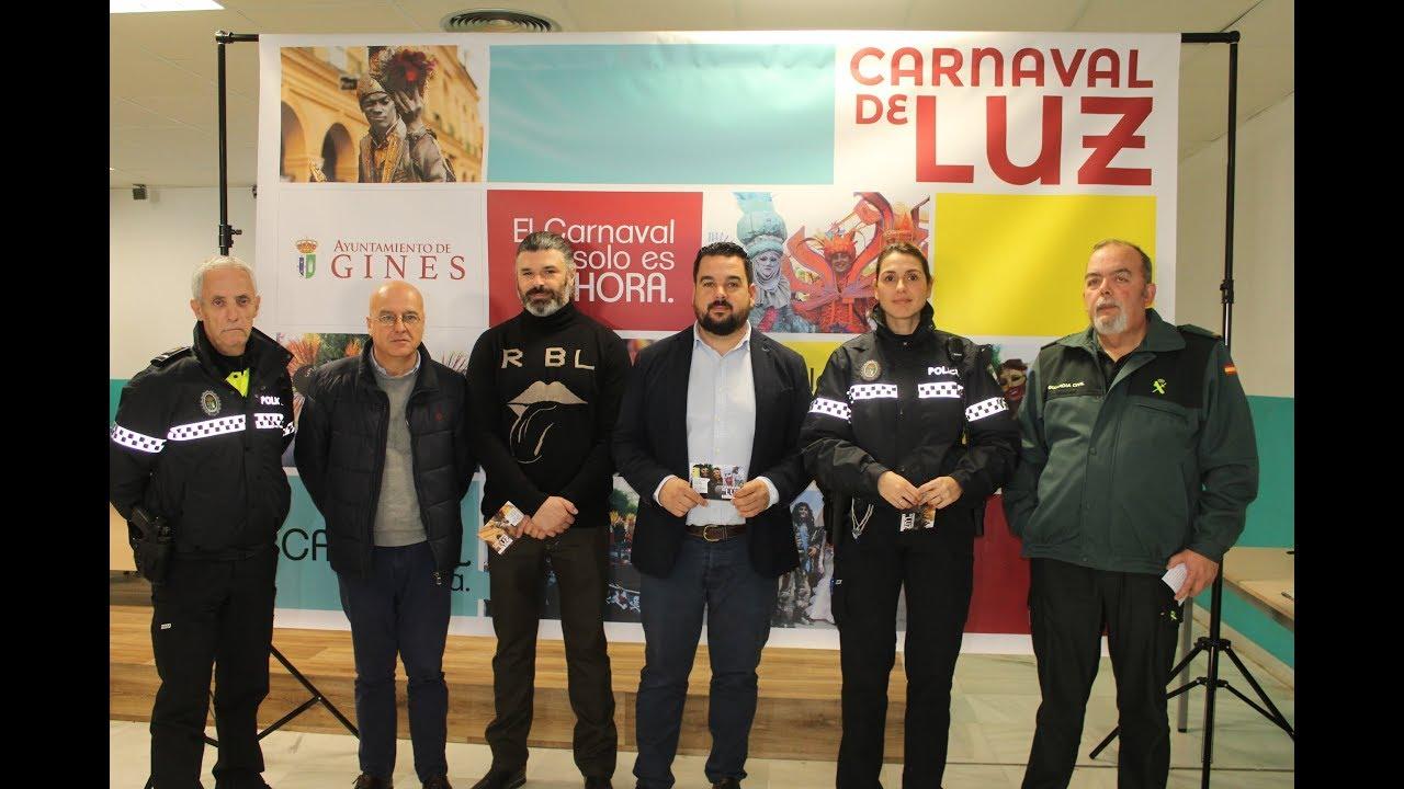 El Ayuntamiento de Gines presenta 'Un Carnaval de Luz'