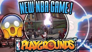 NEW NBA GAME!!!!!!!!! - NBA Playgrounds Episode 1