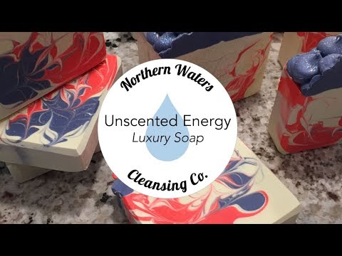 Unscented Energy Making & Cutting Cold Process Soap | Northern Waters Cleansing Co.