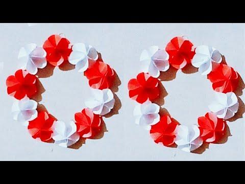 Pohela Boishakh | পহেলা বৈশাখ | DIY paper Flowers Wall Hanging | How to Make paper Flowers | Ep 05