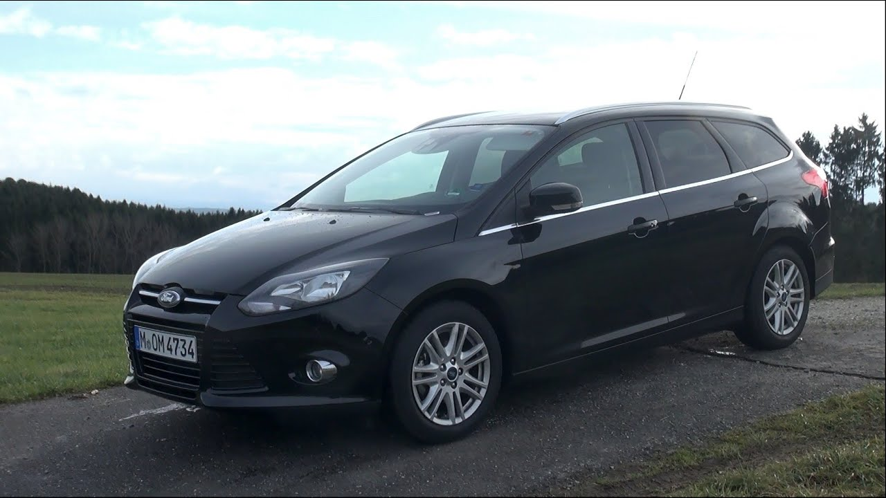2014 ford focus turnier 1 0 ecoboost 125 hp test drive youtube. Black Bedroom Furniture Sets. Home Design Ideas