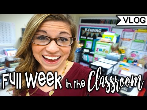 Full Week in the Classroom | That Teacher Life Ep 17
