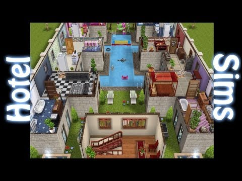 Sims freeplay casa al estilo mediterr neo for Casa de diseno sims freeplay