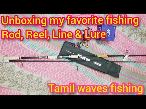 Unboxing My New Favorite Rod Reel Line & Lure