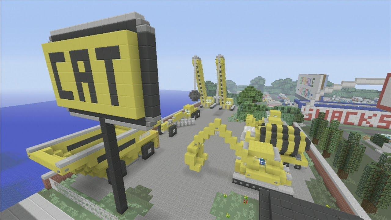Minecraft xbox Epic Structures: SPANKLECHANK'S C.A.T ...