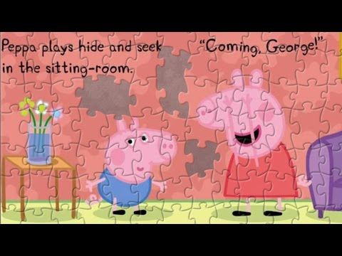 Peppa Pig Hide And Seek - Puzzle Game For Kids