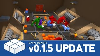 Gang Beasts v0.1.5 Update - Containers, Halloween Costumes and Spawns