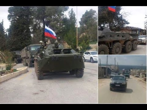 News.Russian military arrived in Afrin (Syria)