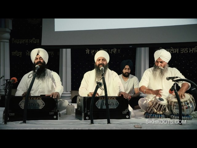 Sant Anoop Singh - Kirtan at San Jose Gurdwara, November 29, 2016