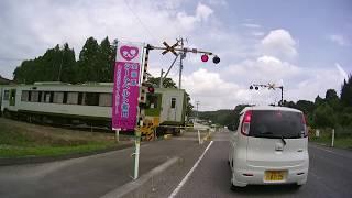 東日本大震災被災地域の海岸線や周辺地域 バイク動画