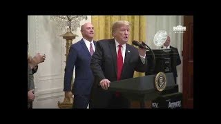 President Trump Welcomes the 2018 College Football Playoff National Champion Clemson Tigers