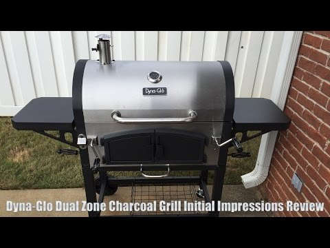 Dyna-Glo Dual Zone Charcoal Grill First Impressions Review