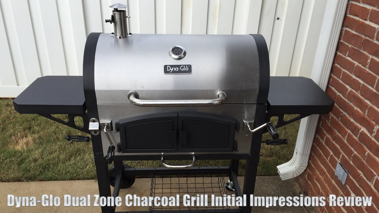 Dyna Glo Dual Zone Charcoal Grill First Impressions Review