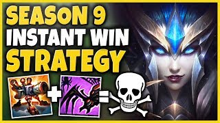 THIS S9 BOOSTING STRAT IS 100% UNFAIR (INSTANT BARON, INSTANT TOWERS) - League of Legends