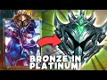 Do They Deserve it? BRONZE Vayne Goes into PLATINUM for the FIRST TIME!! - League of Legends