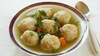 Best Matzo Ball Recipe | How to Make Matzo Balls | JOY of KOSHER with Jamie Geller
