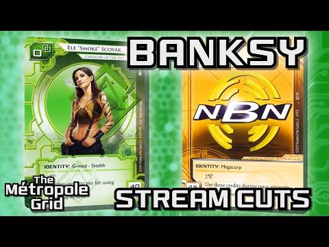 Android: Netrunner // Banksy Smoke vs. Making News - Stream Cuts