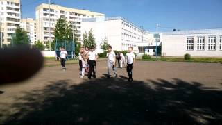 Урок физкультуры на улице