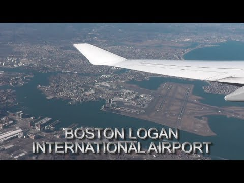 Boston Logan International Airport [HD]