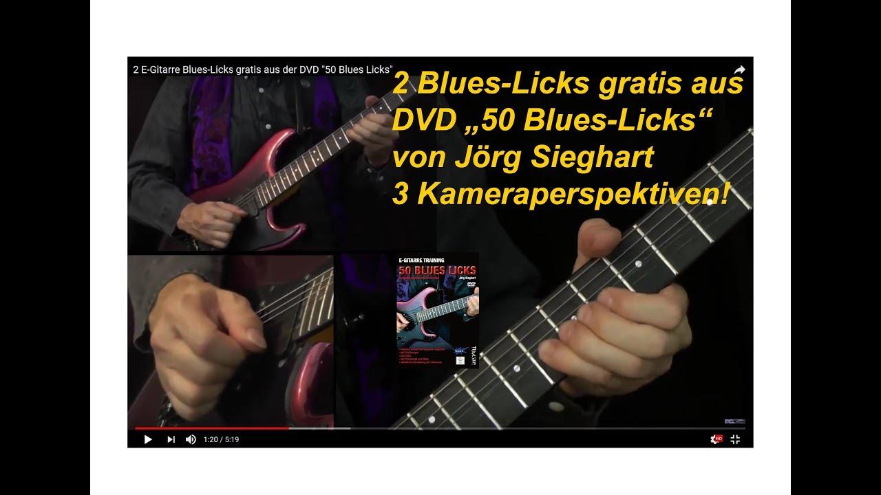 2 e gitarre blues licks gratis aus der dvd 50 blues licks youtube. Black Bedroom Furniture Sets. Home Design Ideas