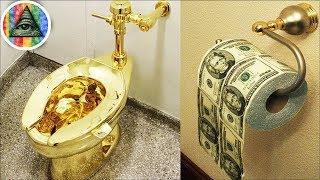 """15 Kiểu Tiêu Tiền """"Điên Rồ"""" Nhất Của Giới Nhà Giàu"""
