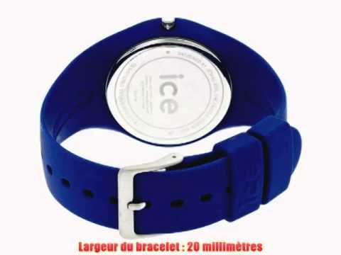 ice watch montre mixte quartz analogique ice blue. Black Bedroom Furniture Sets. Home Design Ideas