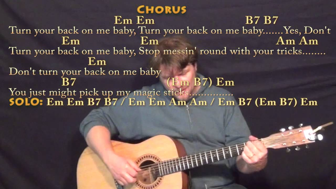 Black Magic Woman Fingerstyle Guitar Cover Lesson In Em With