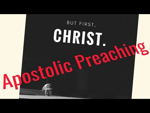 Apostolic Preaching / Pentecostal Preachers