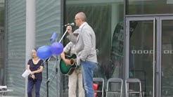 """Thomas Mütze und Oswald Stenger mit """"Freiheit"""" beim PoE Aschaffenburg am 2.7.2017"""