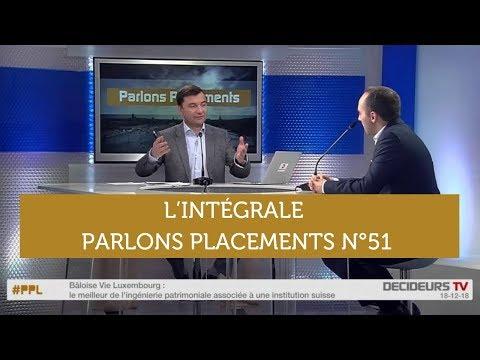 Parlons Placements n°51 Décembre 2018 : Brexit / Donation / Assurance-vie Luxembourg