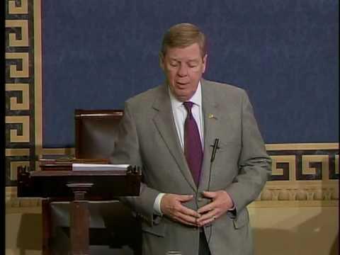 Senator Johnny Isakson on Craig Becker