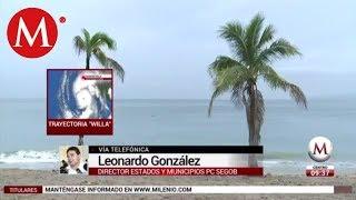 'Willa' provocará tormentas en Sinaloa, Nayarit y Jalisco
